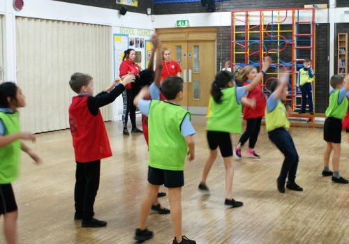 Barton Moss Handball PE