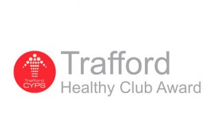 Trafford healthy club logo